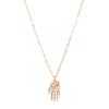 Celine Daoust Little Dharma's Hand Necklace - Necklaces - Broken English Jewelry