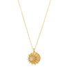 Celine Daoust Sun Medallion Necklace - Necklaces - Broken English Jewelry