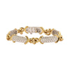 Antique & Vintage Jewelry Tiffany & Co Two-Tone Diamond Bracelet - Bracelets - Broken English Jewelry