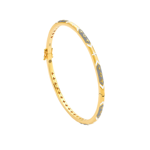 Rhombus Skinny Bangle