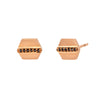 Sethi Couture Maya Stud Earrings - Rose Gold - Earrings - Broken English Jewelry