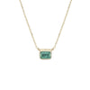 Emerald Lexie Necklace - Jennie Kwon - Necklaces | Broken English Jewelry