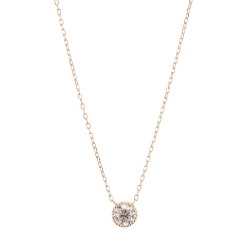 Champagne Diamond Magic Eye Necklace - Jennie Kwon - Necklaces | Broken English Jewelry