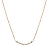 Jennie Kwon Pizzicato Necklace - Diamond - Necklaces - Broken English Jewelry