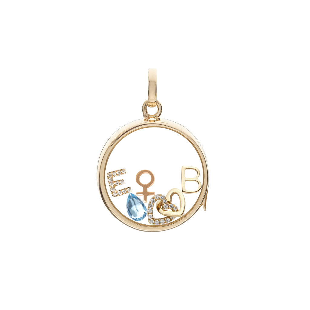 Loquet Female Symbol Charm - Charms & Pendants - Broken English Jewelry
