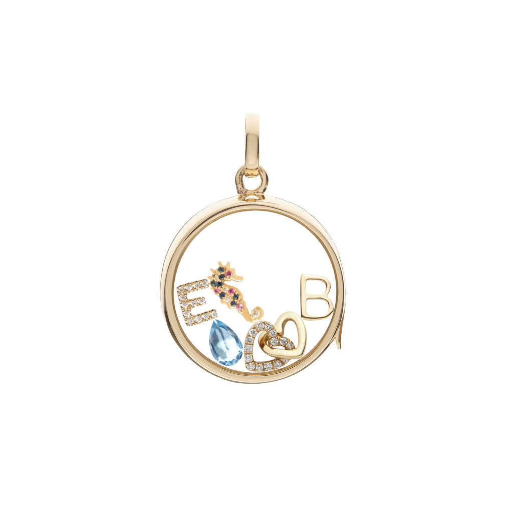Loquet Seahorse Charm - Charms & Pendants - Broken English Jewelry