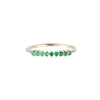Emerald Lace Ring  - Jennie Kwon - Rings | Broken English Jewelry