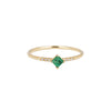 Jennie Kwon Equilibrium Ring - Emerald - Rings - Broken English Jewelry