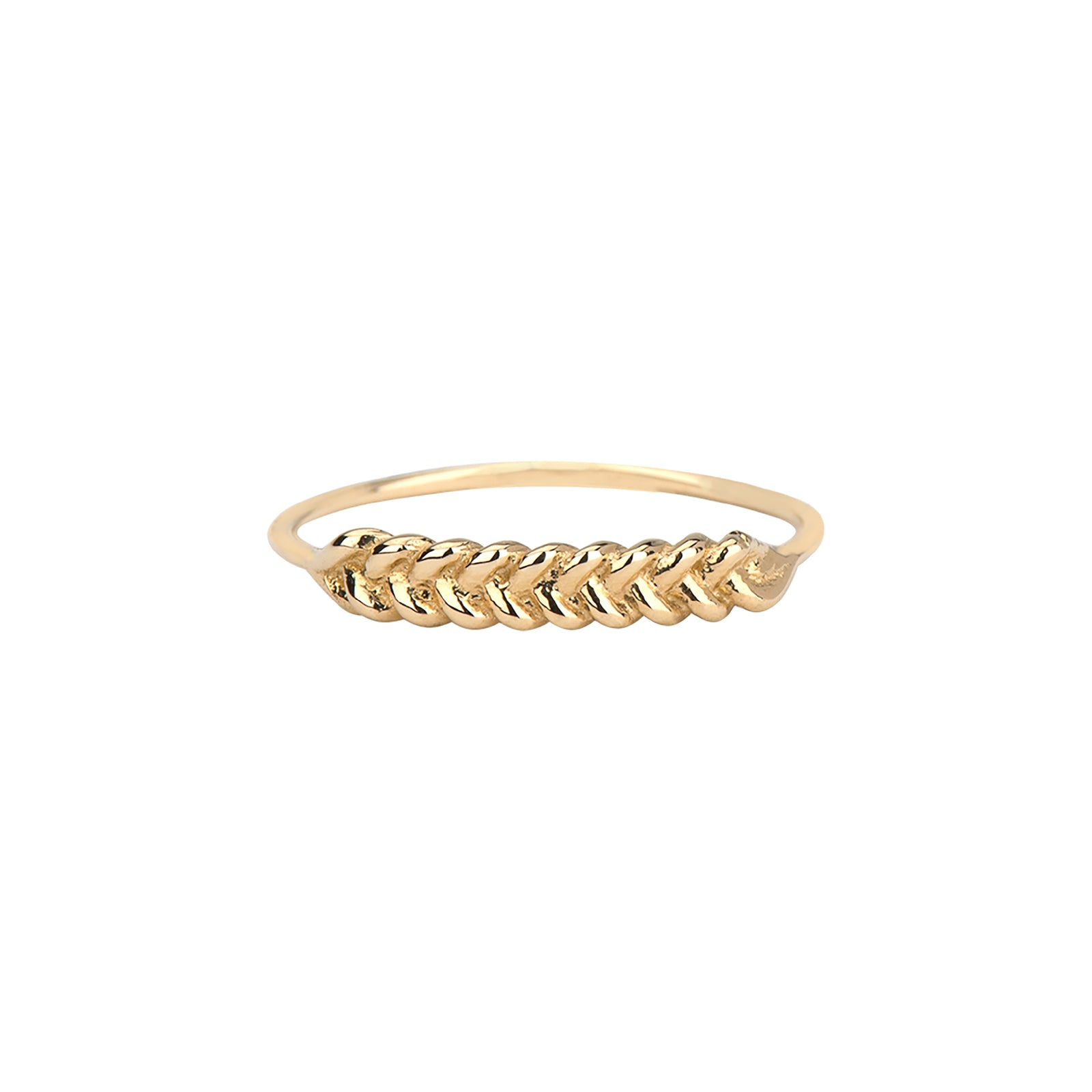 Jennie Kwon Braided Ring - Rings - Broken English Jewelry