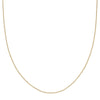 "Loquet 18"" Chain - Yellow Gold - Necklaces - Broken English Jewelry"