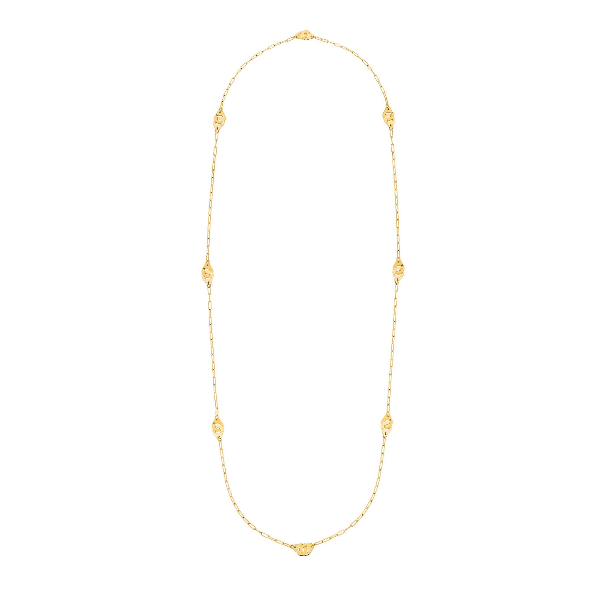 Menottes R8 Long Necklace - Dinh Van - Necklaces | Broken English Jewelry