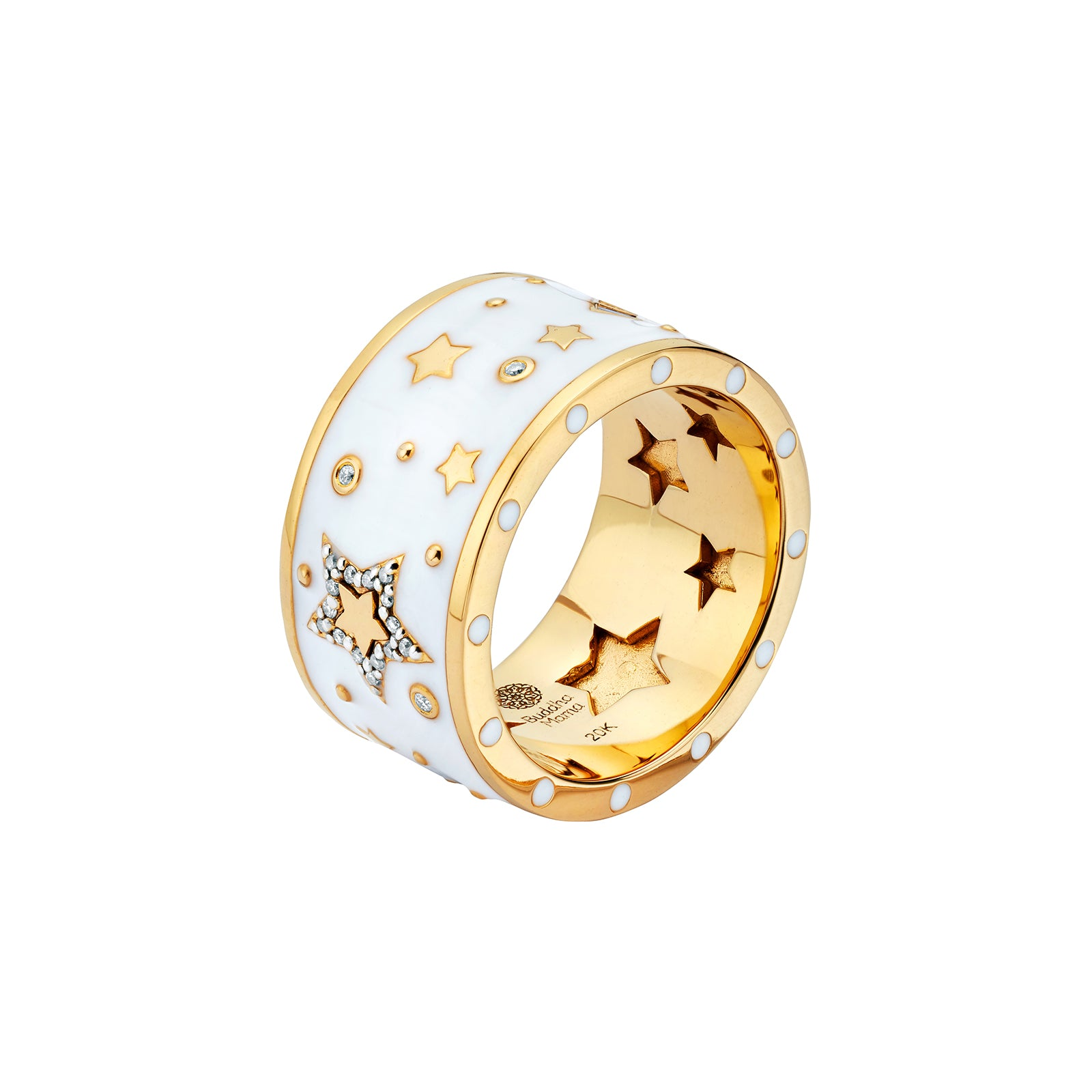 Buddha Mama Star Band - Rings - Broken English Jewelry