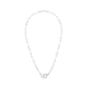 Menottes R12 White Gold Diamond Necklace - Dinh Van - Necklaces | Broken English Jewelry