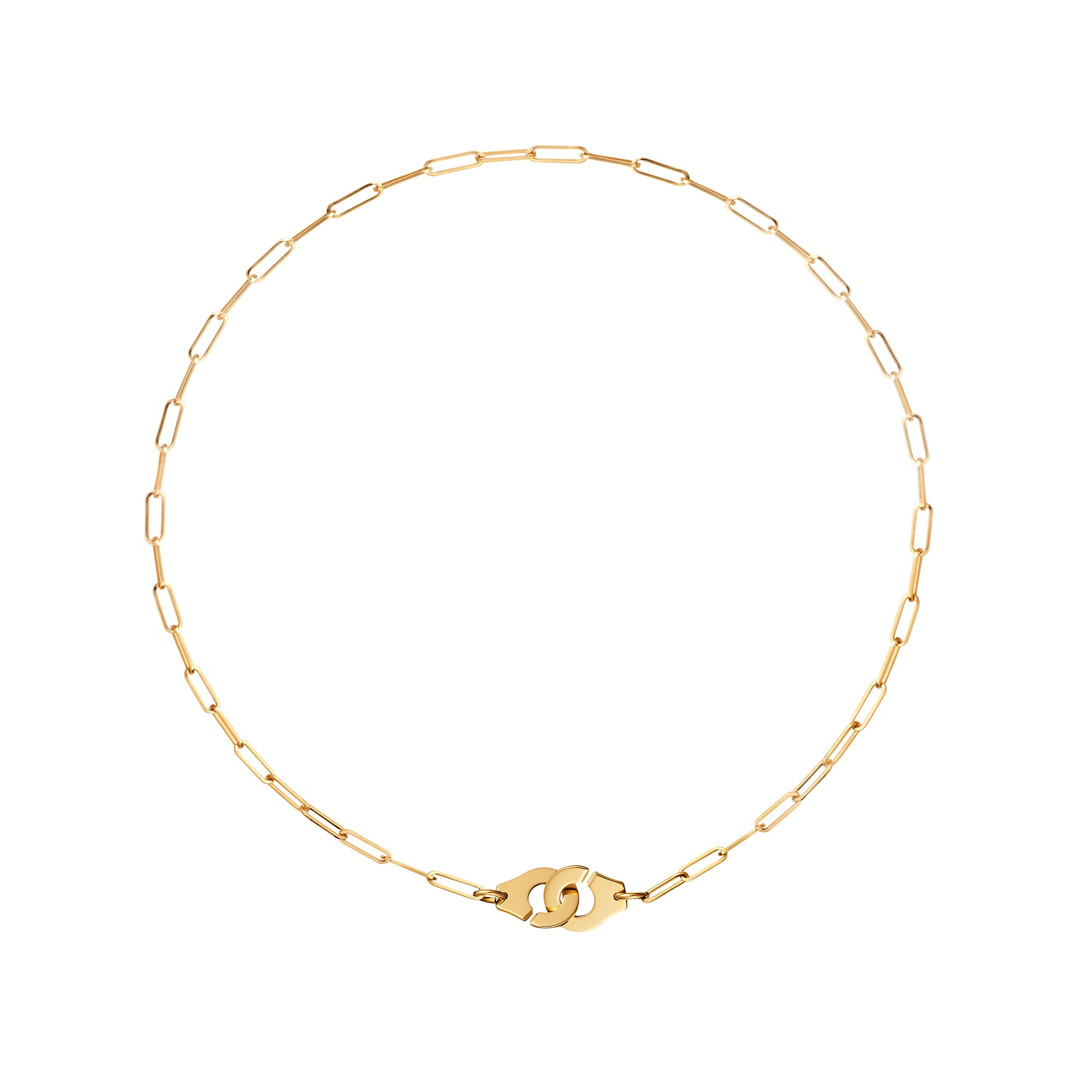 Menottes R10 Mixed Link Necklace - Dinh Van - Necklaces | Broken English Jewelry