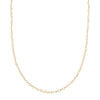 "Loquet 32"" Heart Chain - Gold - Necklaces - Broken English Jewelry"