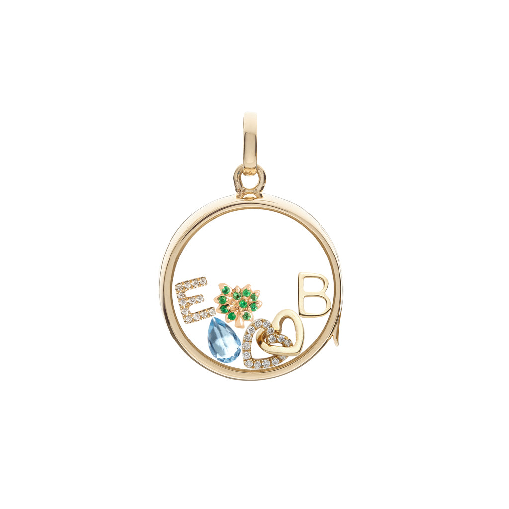 Loquet Family Tree Generations Charm - Charms & Pendants - Broken English Jewelry