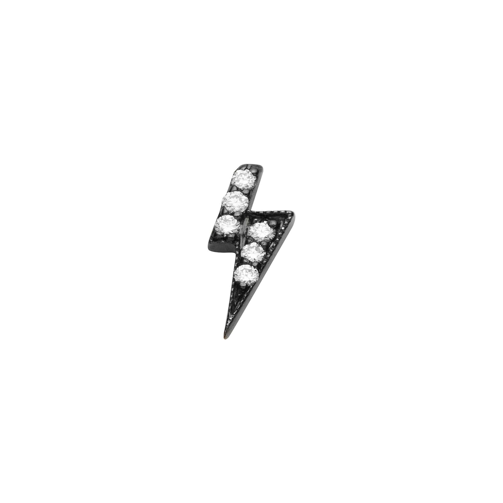 Loquet Lightning Bolt Stud - Earrings - Broken English Jewelry