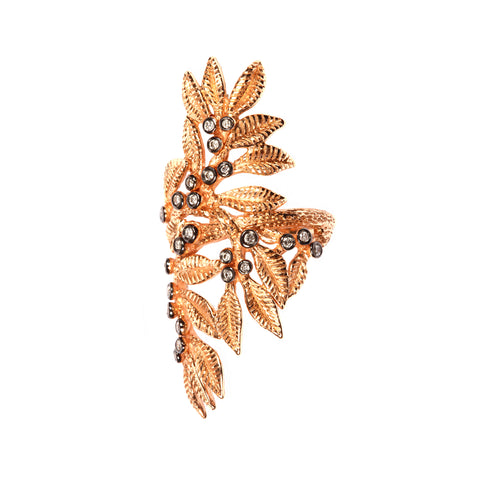 Gold Flora Ring - Aida Bergsen - Ring | Broken English Jewelry