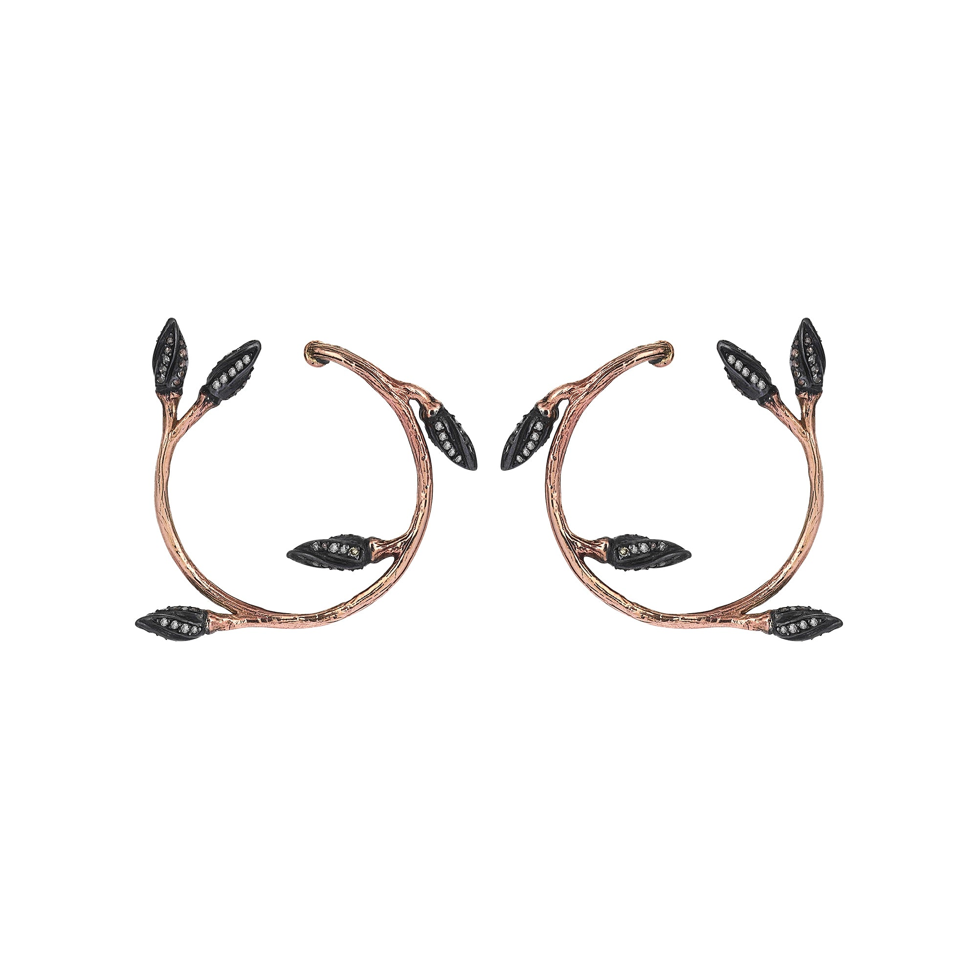 Flora Hoops - Aida Bergsen - Earrings | Broken English Jewelry
