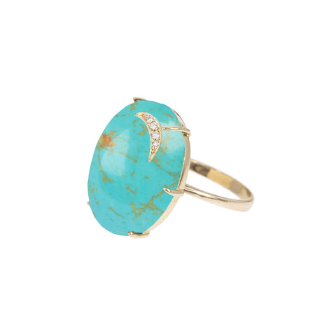 Turquoise Aurora Ring - Andrea Fohrman - Ring | Broken English Jewelry
