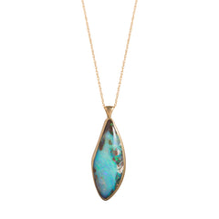 Gold & Opal Necklace by Annette Ferdinandsen for Broken English Jewelry