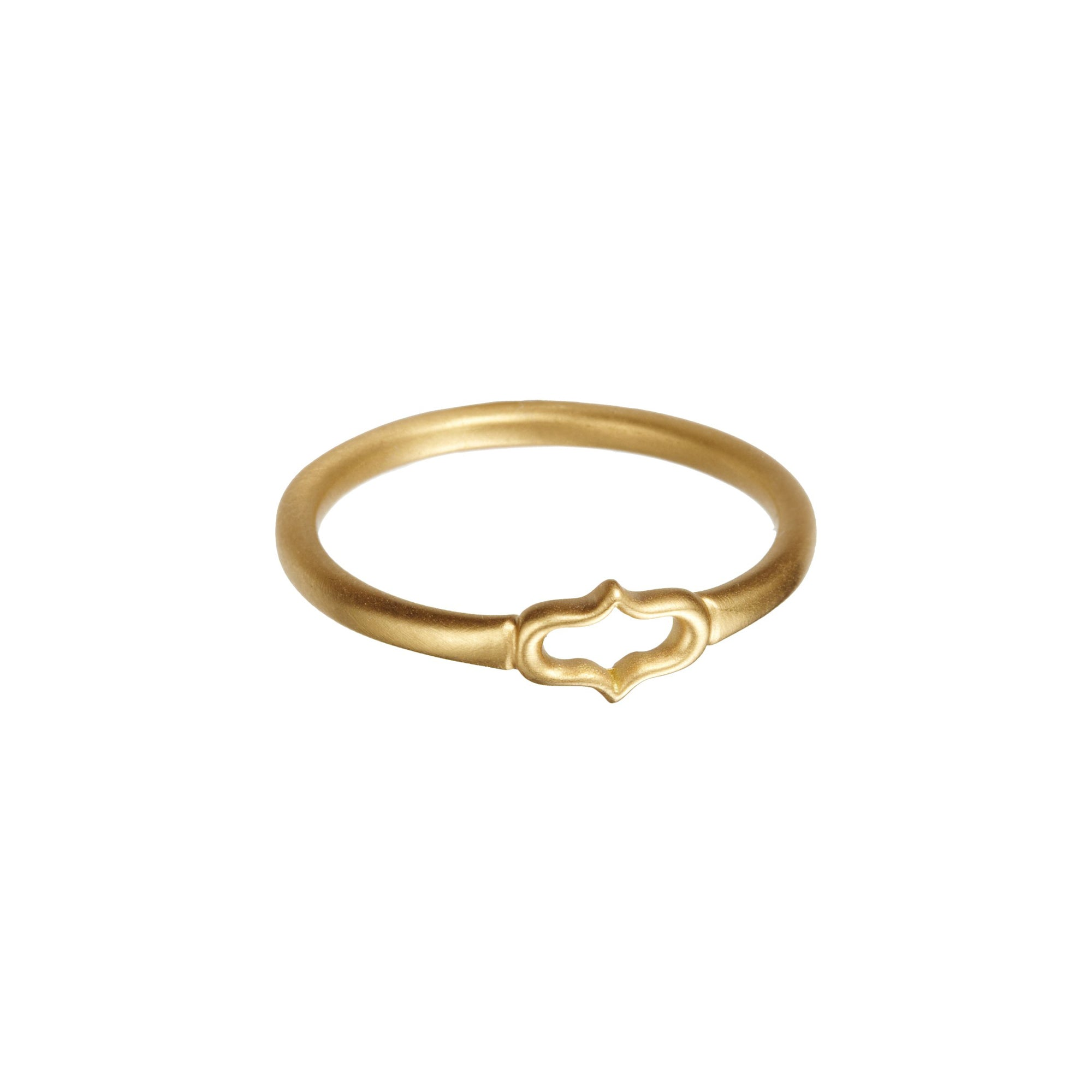 Gold Ani Motif Stack Ring by Anahita for Broken English Jewelry