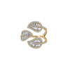 Anita Ko Tri-Leaf Ring - Rings - Broken English Jewelry
