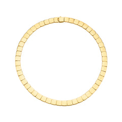 Gold Harlow Necklace by Anita Ko for Broken English Jewelry
