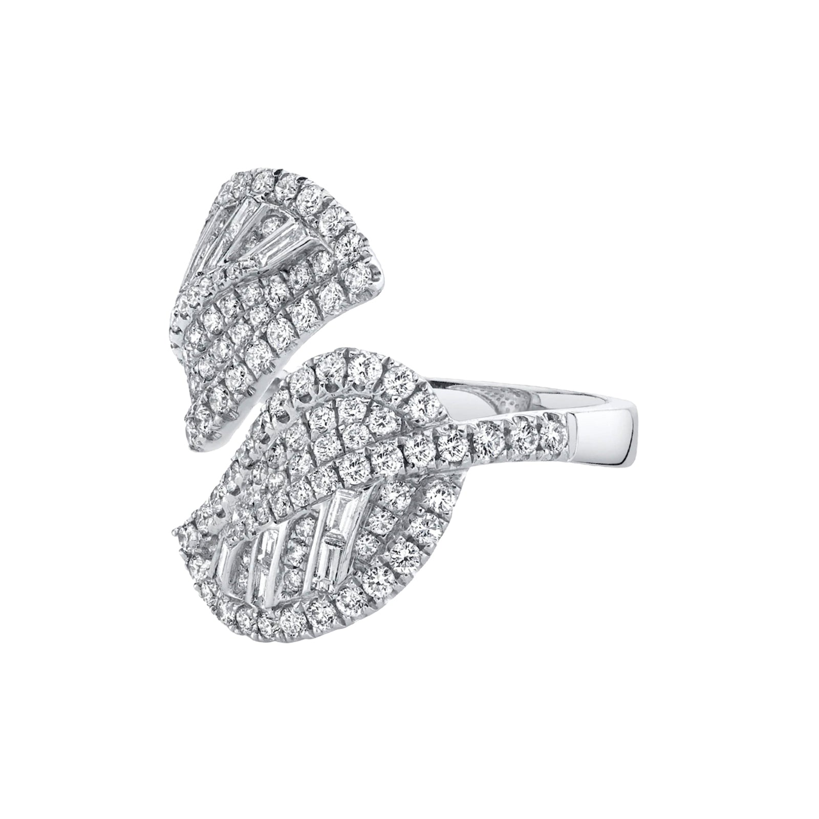 Anita Ko Diamond Cluster Leaf Ring - Rings - Broken English Jewelry