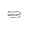 Anita Ko Diamond Coil Ring - White Gold - Rings - Broken English Jewelry