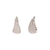 Anita Ko Diamond Claw Earrings - White Gold - Earrings - Broken English Jewelry