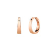 Anita Ko Meryl Hoops - Rose Gold - Earrings - Broken English Jewelry