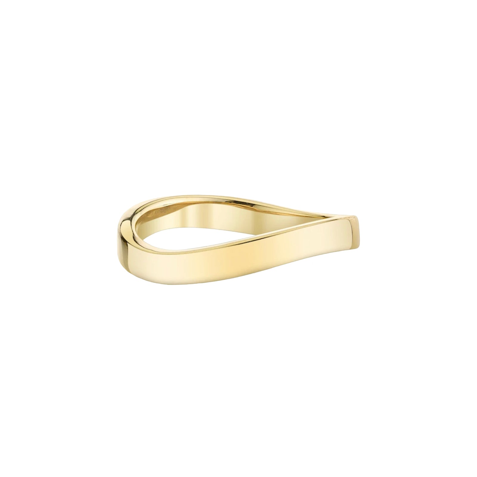 Anita Ko Curved Ring - Rings - Broken English Jewelry