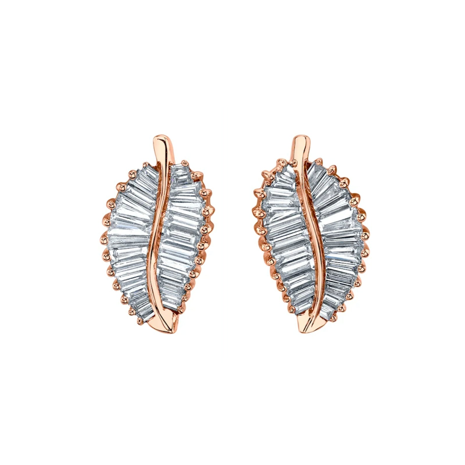 Palm Leaf Studs by Anita Ko - Earrings - Broken English Jewelry