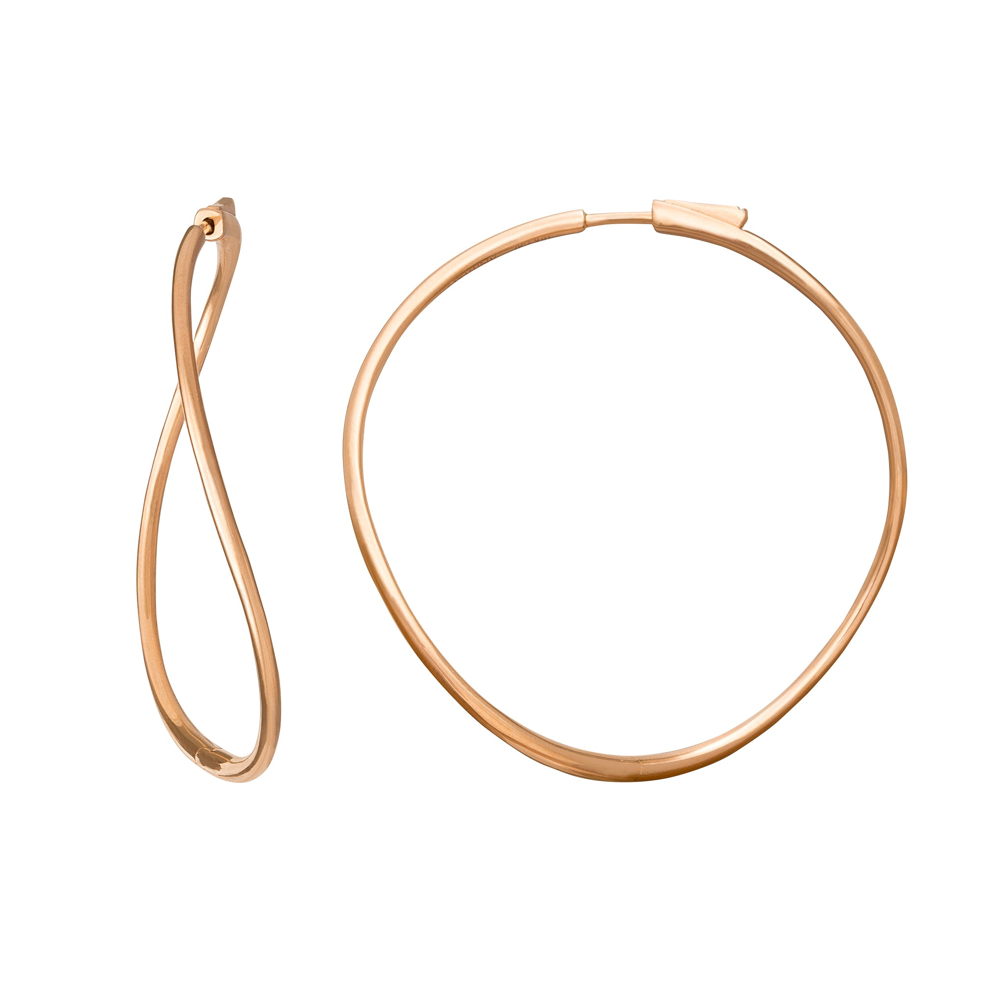 Twisted Hoops - Anita Ko - Earrings | Broken English Jewelry