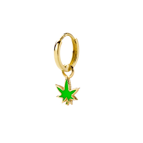 Weed Huggy - Alison Lou - Earrings | Broken English Jewelry