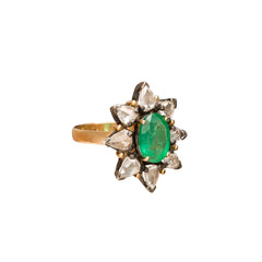 Emerald Starburst Ring by Legend Amrapali for Broken English Jewelry