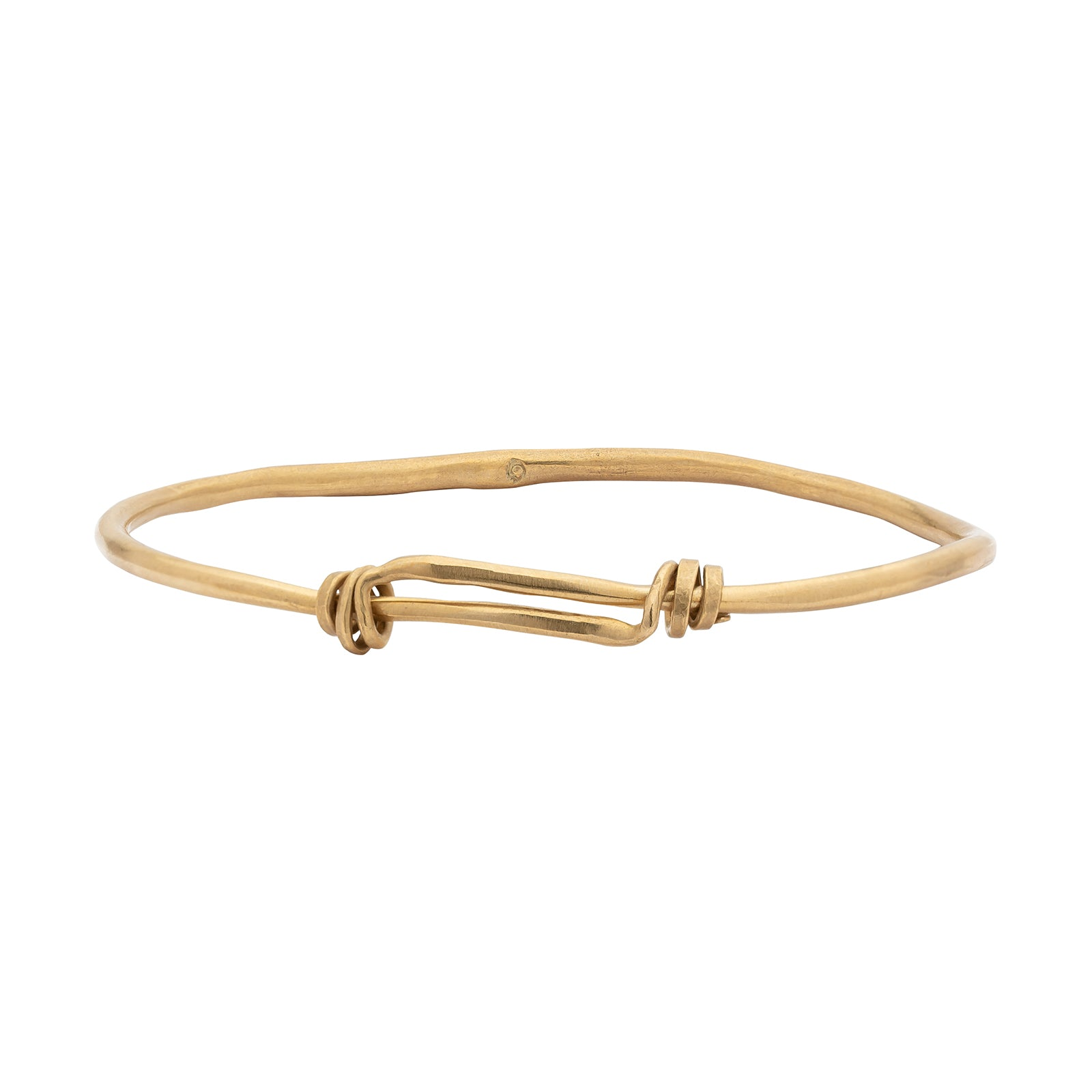 Ariana Boussard-Reifel Beverley Bangle - Brass - Bracelets - Broken English Jewelry