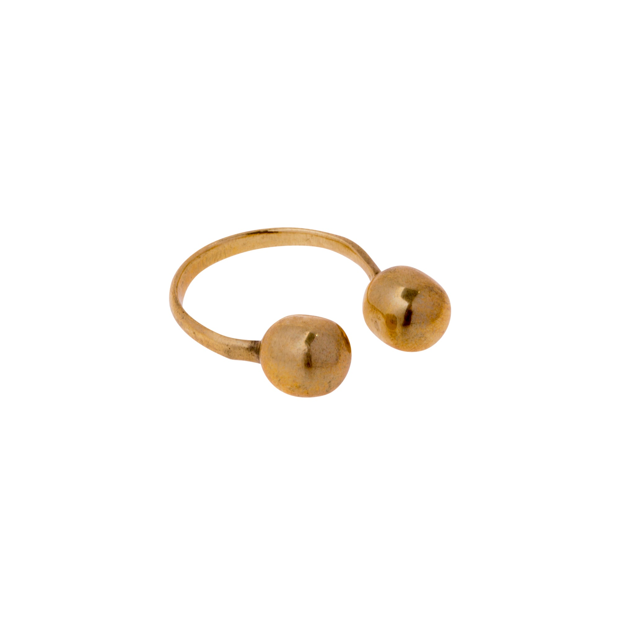 Brass Hypatia Ring by Ariana Boussard-Reifel for Broken English Jewelry