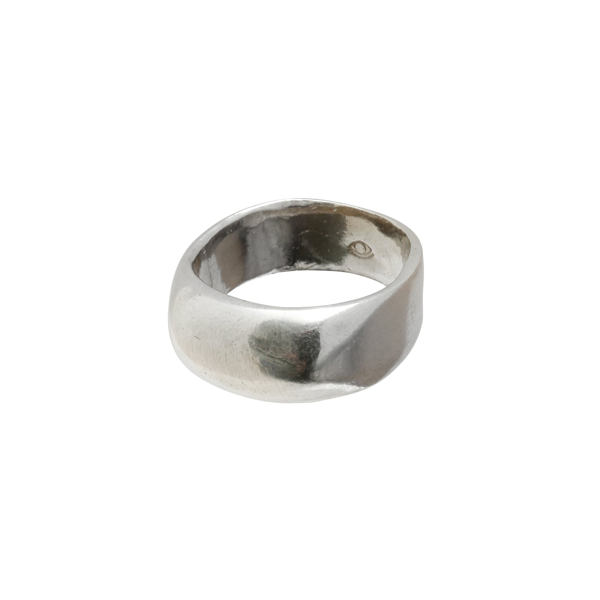 Silver Brass Maya Ring by Ariana Boussard-Reifel for Broken English Jewelry