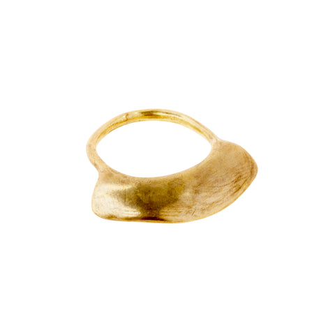 Brass Raissa Ring by Ariana Boussard-Reifel for Broken English Jewelry
