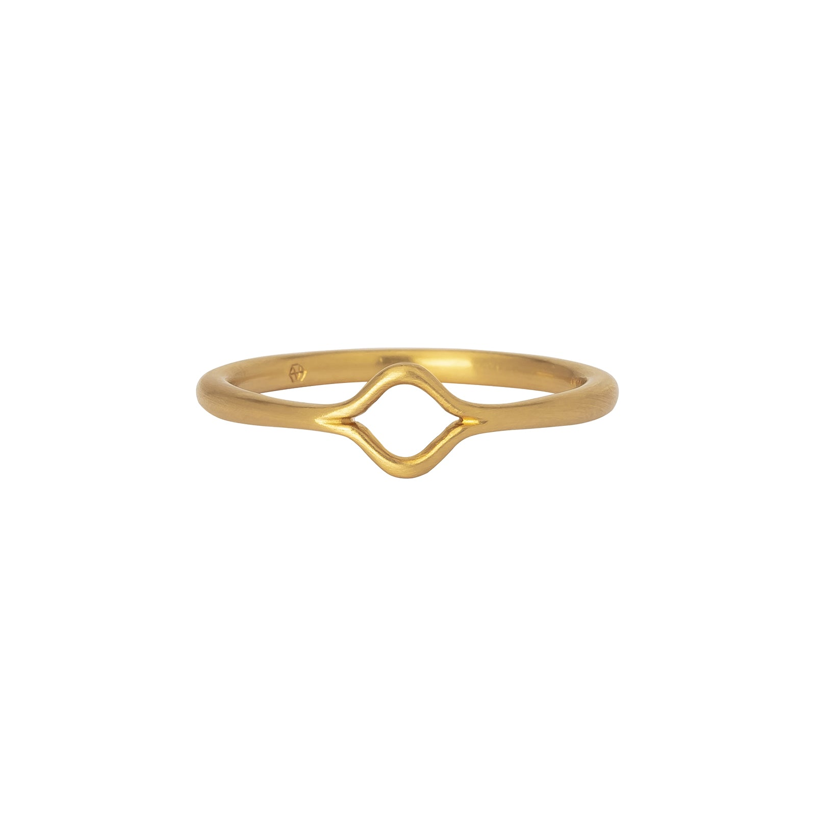 Anahita Eye Motif Stack Ring - Rings - Broken English Jewelry