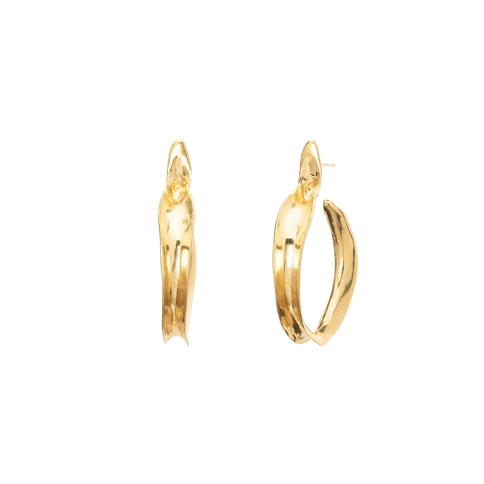 Ariana Boussard-Reifel Kiki Earrings - Brass - Earrings - Broken English Jewelry