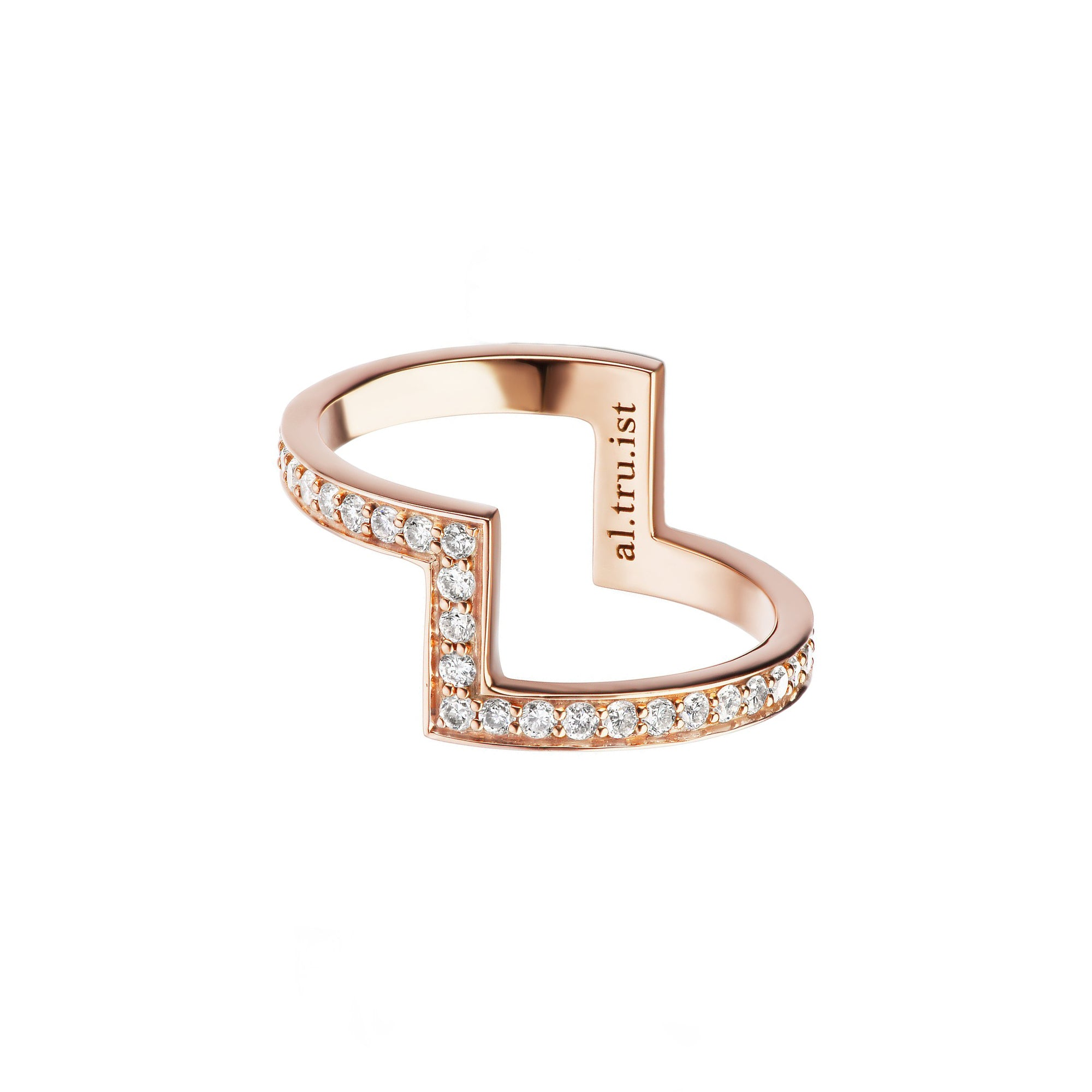 Diamond Detailed Bonaparte Ring by Altruist for Broken English Jewelry