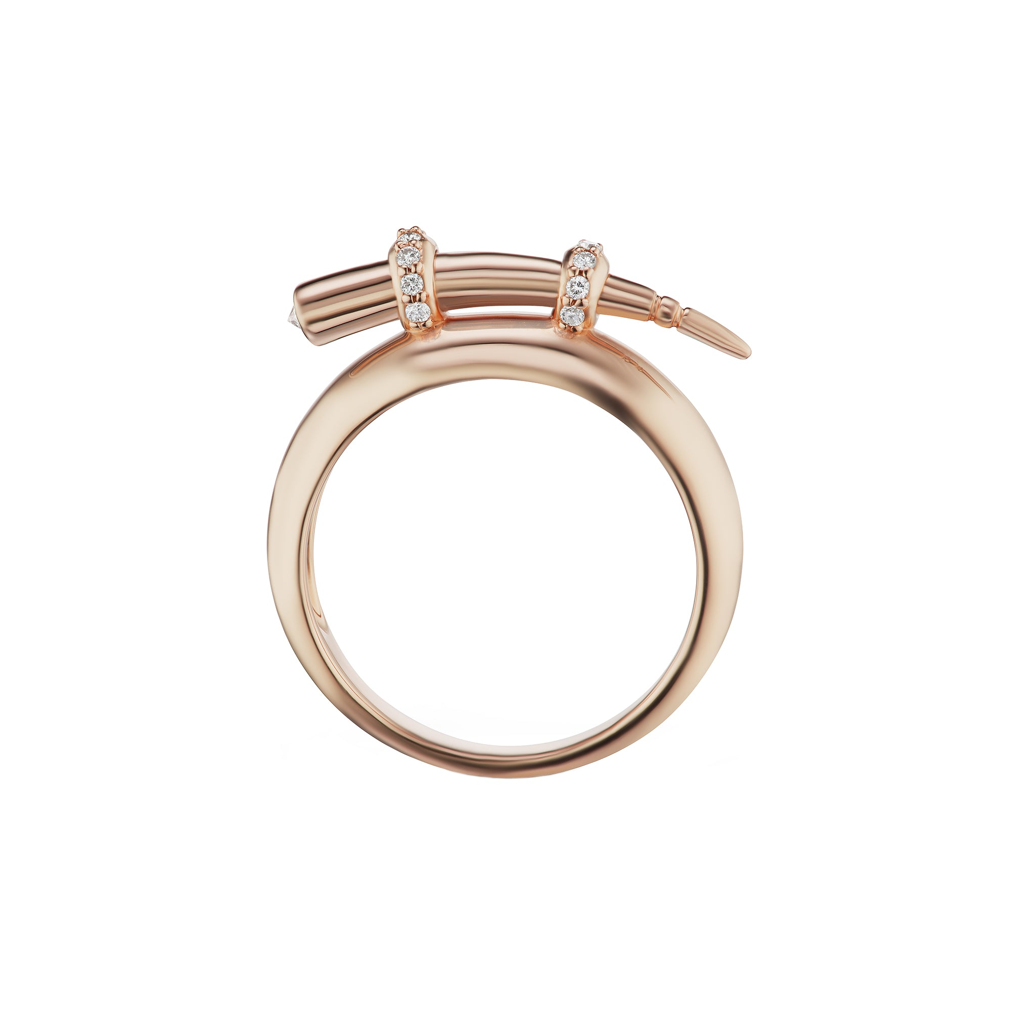 Hanno Tusk Ring by Altruist for Broken English Jewelry
