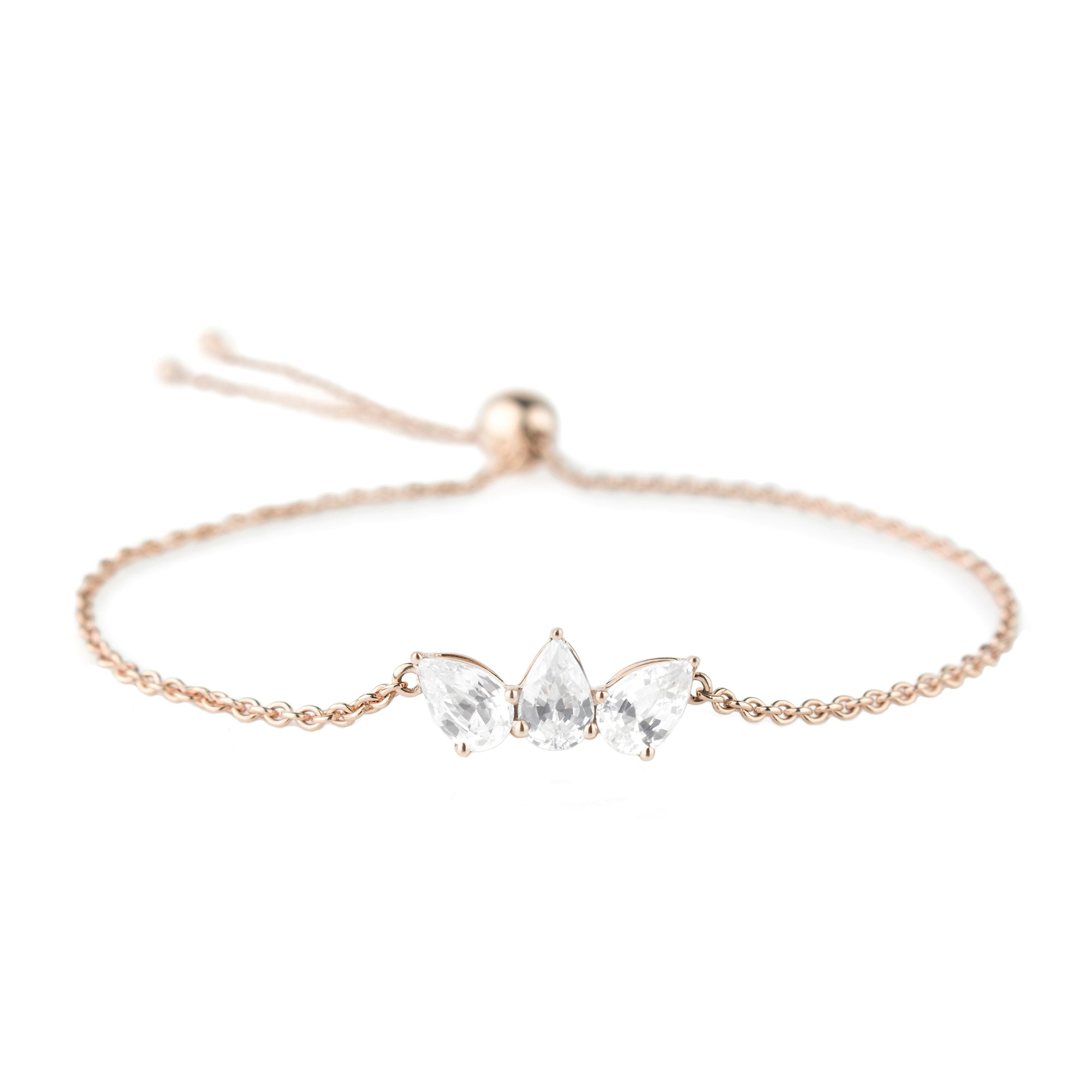 White Sapphire Olympia Bracelet by Altruist for Broken English Jewelry