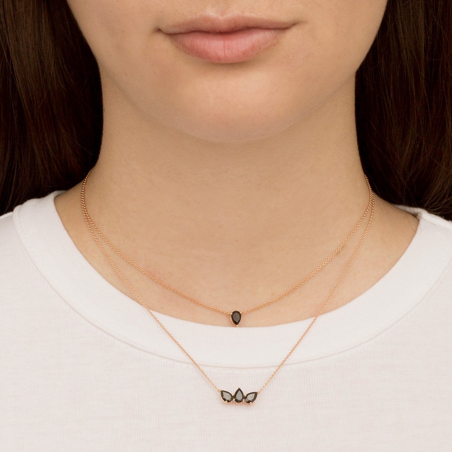 Black Spinel Pirum Choker by Altruist for Broken English Jewelry