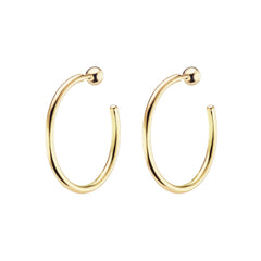 Ace Hotel Hoops by Altruist for Broken English Jewelry