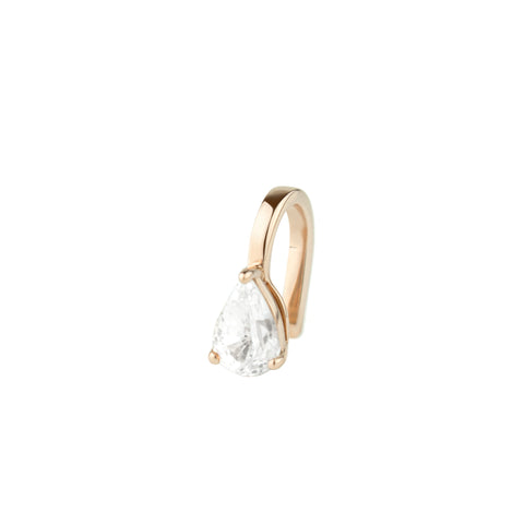 White Sapphire Pirum Clip by Altruist for Broken English Jewelry