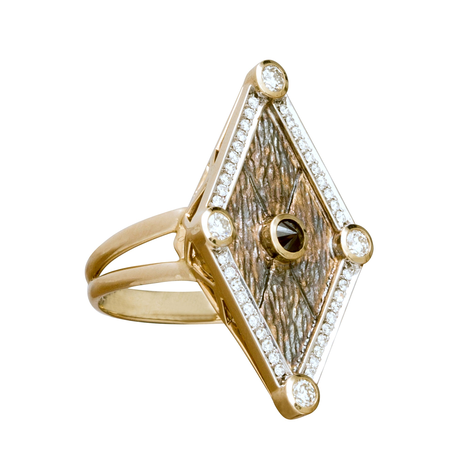 Diamond Kite Ring